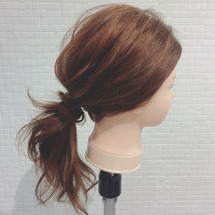 ラフポニー hair…