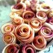 薔薇のアップルパイを…