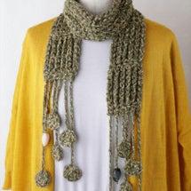 これもかぎ針編みです…