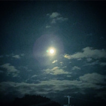 《満月の夜、月読命に…