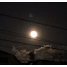 """""""今年初めての満月""""…"""