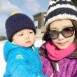 初ソリ!六甲山スキー…