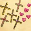 ポップな十字架とハー…