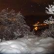 三角山早朝の樹氷林!