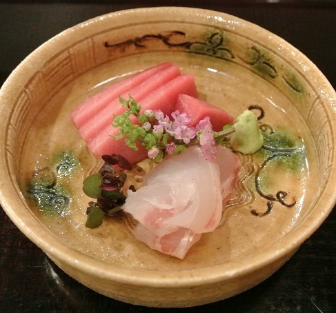 赤坂津やま 戸井鮪&淡路の鯛