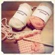 リフ編みも編んでいた…