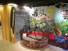 自転車の展示