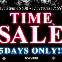 【TIME SALE…