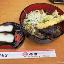 天ぷらそば・鯖寿司 …