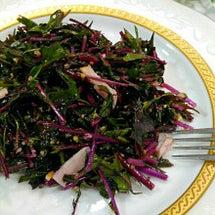 色がキレイ♡紫水菜の…