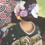 成人式のヘア飾り