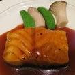 鮮魚のソテー特製黒酢…