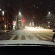 京都市内も今晩は雪が…