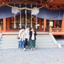 初詣♡金櫻神社