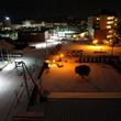 真夜中にポソリ☆雪で…