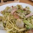里芋のペペロンチーノ