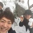 朝から大雪(^。^)