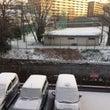 雪の影響・・・