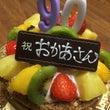 誕生日祝いで萬壽さん…