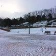 桂川マルシェは雪のた…