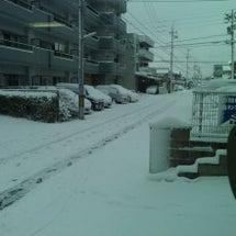 雪かきしたけど