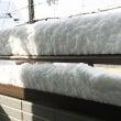 降り積もった雪を見て…