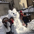 大作(o^^o)雪だ…