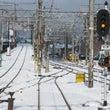 雪の京都へ