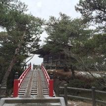 雪の松島と大崎八幡宮…