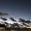 和泉府中駅からの夕焼…