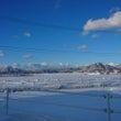 雪の週末…
