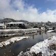 雪の1日。
