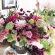 お誕生日祝いの花贈り…