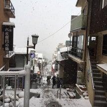 冬将軍IN石段街