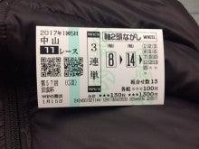 06_京成杯_3連単軸2頭ながし_20170115