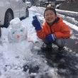 雪も楽しむ♪♪雪も芸…