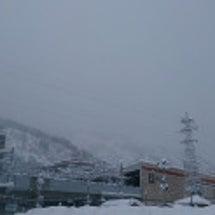 越後湯沢 今日まで寒…