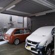 昨日の大雪