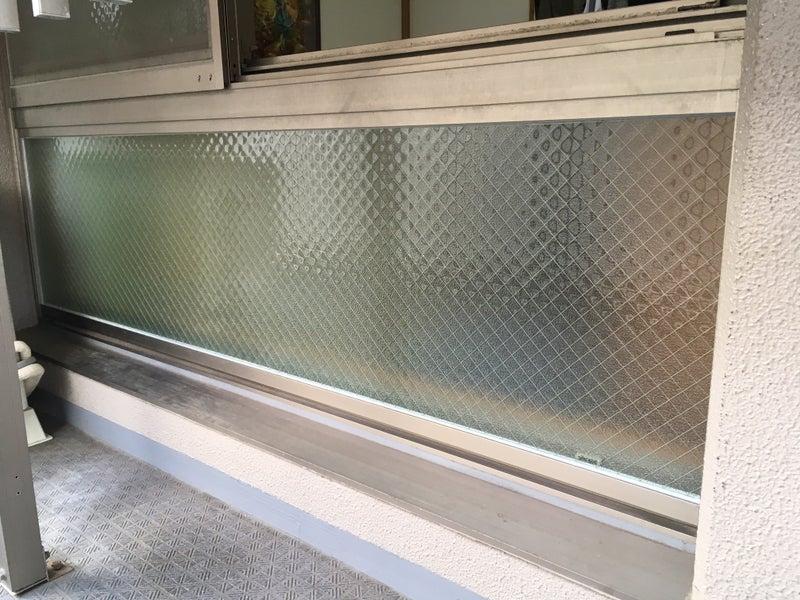 ■網入ガラス割れ替え工事