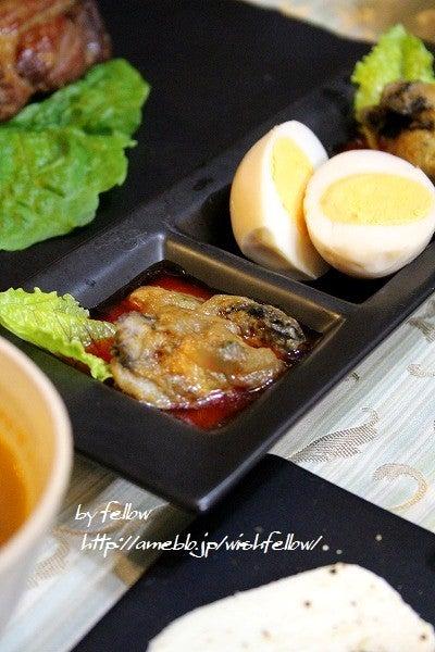 牡蠣のピリ辛煮