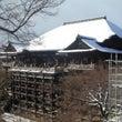 京都・雪の清水寺