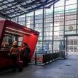 ルツェルン駅にスイス…