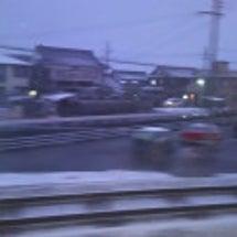 滋賀県で足止め!?