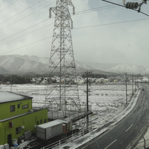 大雪の京都へ/二条城