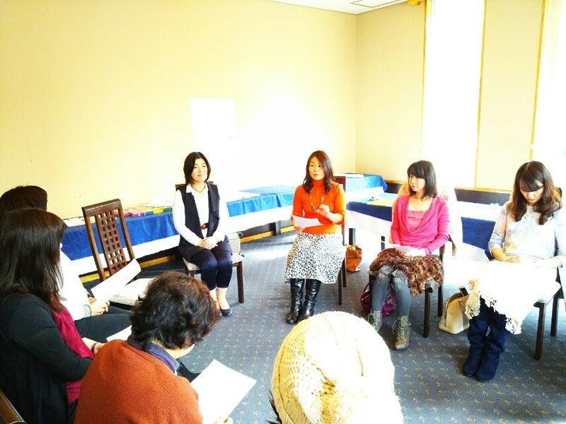 カフェでグループ瞑想12月