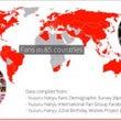 世界ファン統計が面白…