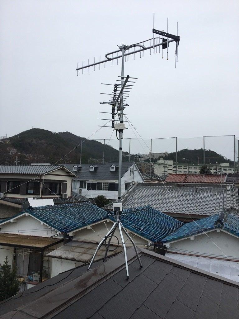 高品質地テレビアンテナ工事
