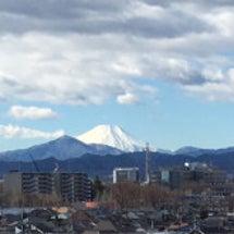 富士山がきれい