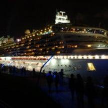 外国クルーズ船の出航