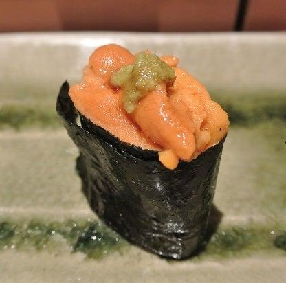 浅草 鮨よしだ 北海道ウニ